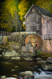 Grist Mill, Painted With Light 2