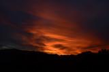 Orange Glow of Sunrise