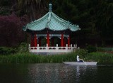 Rowing  by Pagoda