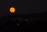 Moon rise - 1 Night Past 2014 Harvest Moon