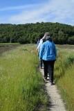 Narrow Levee Path