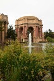 Palace of Fine Arts Fountain View