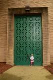 Giant Green Door