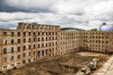 Former Reichsbahndirektion Cologne, gutted for rebuilding