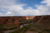 CANYON VIEW FROM TSEGI OVERLOOK