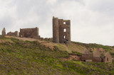 remains of the mining landscape