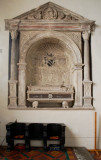 Memorial to John Harford 1573
