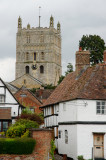 the abbey tower...