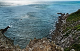 squalls off Beacon Beach
