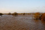 Malvern Hills and lake (temporary we hope)