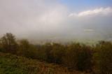 fog receding from Malvern Hills