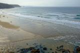 Porthtowan low tide
