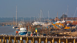 Southwold Harbour from Walberswick side
