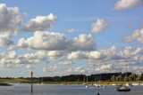 down river from the tide-mill