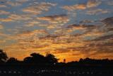 September morning sky