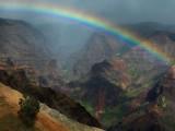 Waimea Canyon Rainbow, Kauai