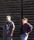 Larry & Carm at Rock Spring, Ga waiting on Southern 4501