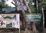 Ingang Abuko Forest - Entrance Abuko Forest