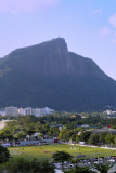 The Corcovado...and the Flamengo training stadium !
