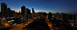 Dusk panorama from my side window......