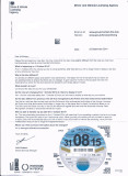 The last tax disk letter