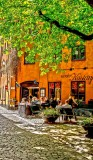 Stockholm, Old town, in May,Spring