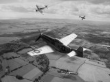 Mustang tangling with two FW190s over W. Sussex. Photo Shop.jpg