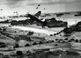 Normandy beach and P47.jpg