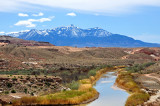 Fremont River & the Henry Mountains