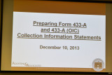 December 10, 2013: Half-Day Tax Topics