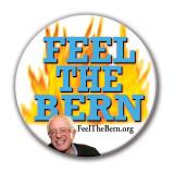 Feel The Bern! Bernie button