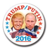 Trump/Putin 2016 Button