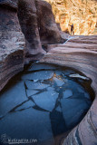 Frozen Pool in Zion