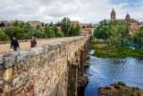 Roman bridge and river, Salamanca