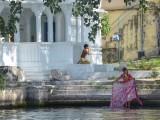 Scène de la vie quotidienne au Radjasthan