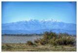 Ce matin, les premières neiges sur le Canigou