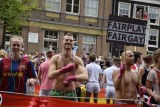 Canal Parade in Amsterdam during Gay Pride, August 2, 2014