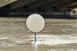 Mirror at Margit Bridge