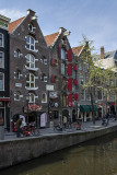 Colorful canal architecture