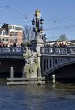 Blauwbrug, Amstel River