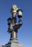 Blauwbrug, lamp detail