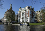 Elegant mansions on the canals