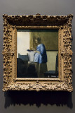 'Woman in Blue Reading a Letter,' Vermeer (1663-64)