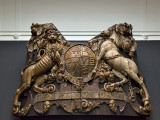 Stern carving from the Royal Charles (c. 1660)