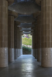 Market hall, Doric columns
