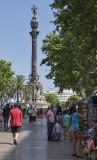 Monument a Colom, La Rambla