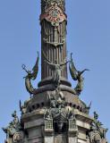 Monument a Colom, detail
