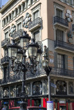 Ornate lights, La Rambla