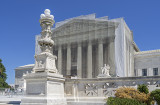 US Supreme Court, under wraps