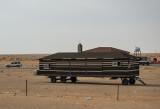 Bedouin tent on wheels
